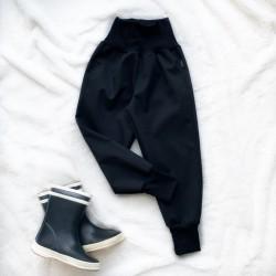 Softshellové nohavice čierne prechodné (jarné)