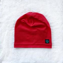 Čiapka jednovrstvová červená