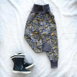Softshellové nohavice bágre prechodné (jarné)