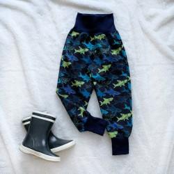 Softshellové nohavice žraloky prechodné (letné)